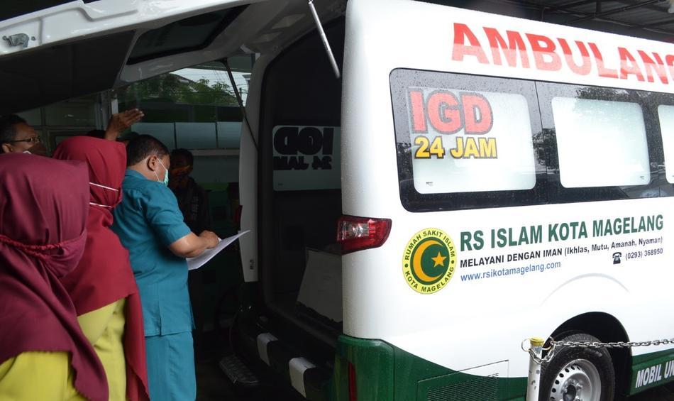 Ambulance Baru RSI Kota Magelang